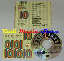 CD TOTALLY WIRED TEN 10 Acid jazz 1993 JAZID CD 72 mc lp dvd vhs (C12*)