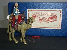 King and Country Gloss British Camel Corps montato in metallo giocattolo Soldato Figure Set