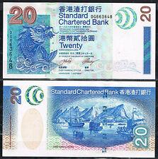 HONG KONG - SCB  20 DOLARES 2003 PicK 291   SC  UNC