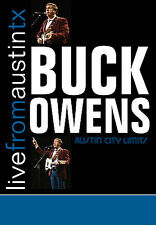 Buck Owens - Live From Austin, Texas (DVD, 2007) New/Sealed Free US Shipping