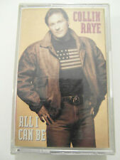 Collin Raye - All I Can Be - Album Cassette Tape, Used Very good