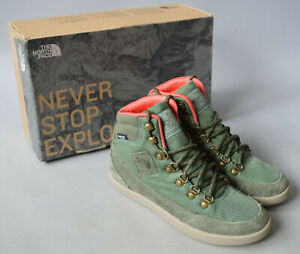 Ladies The North Face Base Camp Ballistic Mid Waterproof Boots Trainers UK 4