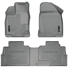 Husky WeatherBeater for 2007-2015 Lincoln MKX Front / Rear Floor Liner 99762