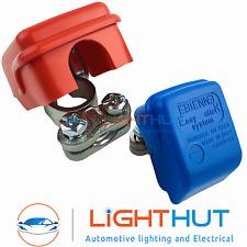 Premium Quality 12V Quick Release Battery Clamps Terminals Caravan Leisure