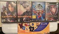 NCSOFT Lot - Guild Wars - Factions - Nightfall - City Of Heroes - Tons Of Extras