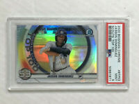 JASSON DOMINGUEZ 2020 Bowman Chrome TOP 100 SP RC! PSA MINT 9! CHECK MY ITEMS!