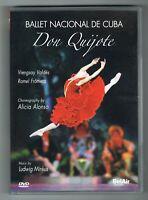 DON QUIJOTE - BALLET NACIONAL DE CUBA - 2007 - DVD NTSC - TRÈS BON ÉTAT