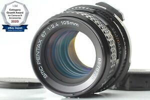 【TOP MINT】 Pentax 67 SMC P 105mm f/2.4 Late Model For 6x7 67 II From Japan 1438