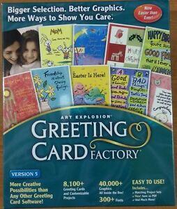Nova Greeting Card Factory 5 NEW Windows XP,98,2000 Free UK Postage Christmas