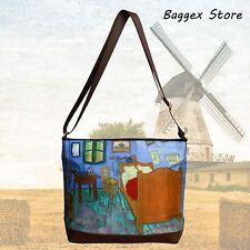 Masterpiece Painting Shoulder Bag Vincent Van Gogh In The Bedroom Cross Body Bag