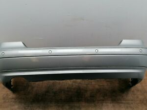 MERCEDES CLK W208 REAR BUMPER SILVER WITH PDC
