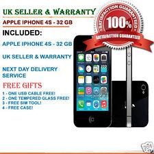 Apple iPhone 4s 32GB Black (Unlocked) Smartphone grade B++ UK STOCK & SELLER