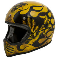 Casco Mx Bd 12 Bm Premier Integrale Cafe racer