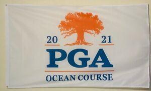 2021 PGA Championship FLAG 3x5ft Kiawah Phil Mickelson Ocean Course