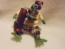 "Al E. Gator Resin Beanbag Plush Alligator By Russ.Approx 5 1/2"" Sitting Down"