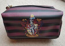 Harry Potter Gryffindor Cosmetics Wash Make up Bag Pencil Case School Primark