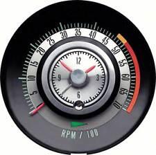 1968 Camaro Tic  Tach Tach Dash Tachometer Clock 5000 rpm OER