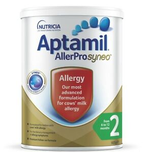 Aptamil Allerpro Syneo 2 Follow-On Formula (From 6-12 Months) 900g (LIMIT 2 C...