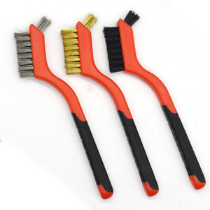 5Pcs/set Hand Brush Set Industrial Cleaning Brush for Rust Removal Newest Useful