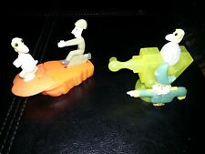 Cartoon Network Subway 2001 Sheep In The Big City Figure Toys Lot of 2