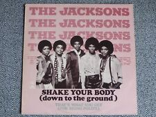 """THE JACKSONS - Shake your body (down to the ground) - 12"""" / MAXI 45T"""