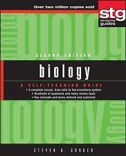 Wiley Self-Teaching Guides: Biology 161 by Steven Daniel Garber (2002,...
