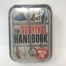 The Survival Handbook by DK Book with Genuine Mess Tin for Outdoor Cooking