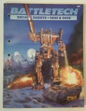 Battletech Record Sheets 3055 & 3058 - #1694