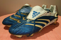 2006 ADIDAS PREDATOR ABSOLUTE TRX SG FOOTBALL BOOTS SOCCER CLEATS US 11.5 UK 11