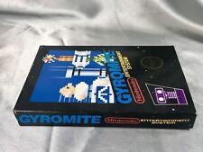Gyromite (original nes Nintendo) Complete in box CIB hangtab hang tab black box