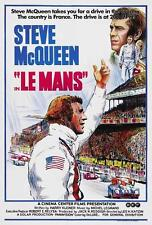 Le Mans Movie POSTER 27 x 40 Steve McQueen, Siegfried Rauch, A, LICENSED NEW