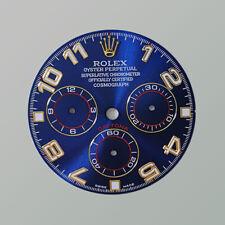 Blue Racing Dial Arabic w/ Numerals for Rolex  Daytona 116520, 116500,... (4130)