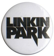 Linkin Park Logo 1 inch Button Pin Badge Grunge Punk alternative