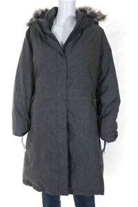 The North Face® Womens Winter Zip Up Gray 2XL
