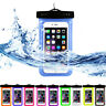 Underwater Luminous Pouch Waterproof Dry Bag Case Cover For iPhone Cell Phone