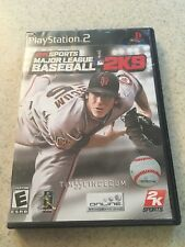 2009 2k Sports 2K9 Major League Baseball Play Station 2  Complete CIB