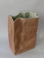 Vase sac Papier. T Wirkkala pour Rosenthal Studio LIne
