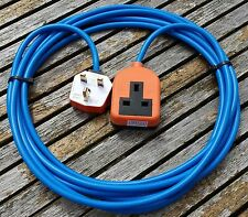 10METER HEAVY DUTY GARDENING 1 WAY SINGLE MAINS ELECTRICAL EXTENSION CABLE LEAD