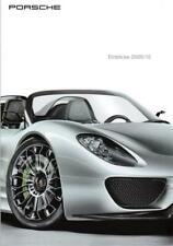 Porsche brochure/folleto/corporate Magazine: visión 2009/10