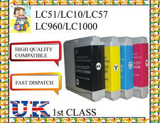 12 ink cartridges for LC10,LC51,LC57,LC960,LC1000 brother non original