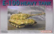Dragon Armor Series E-100 Heavy Tank in 1/72 7256 ST