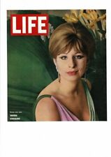 VINTAGE 1964 LIFE MAGAZINE COVER BARBRA STREISAND GREAT NEW STAR AD PRINT