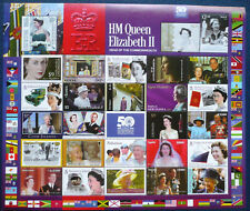 50 Jahre Commonwealth Bogen ** MNH enthält 27 Briefmarken verschiedener Länder