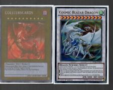 Yugioh Card - Ultra Rare Holo - Cosmic Blazar Dragon DUSA-EN034 1st Edition NEW