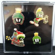 Warner Bro's Marvin The Martian Pin Badge Set