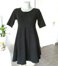 robe femme enceinte taille 40 M L vêtement de grossesse noir évasé patineuse