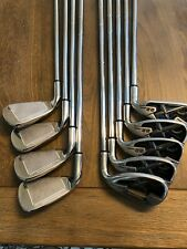 CALLAWAY X-22 IRONS 3-SW IRON SET UNIFLEX FLEX STEEL SHAFTS GOLF CLUBS X 22 RH