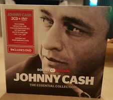 Johnny Cash - THE ESSENTIAL COLLECTION 2 CD + DVD Opened to check and photograph