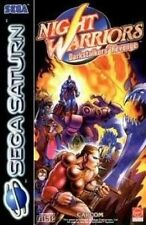 Saturno gioco-Night WARRIORS GIOCO-Darkstalkers Revenge (CD con Inst).