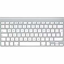 Original Apple A1314 (MC184B/A) Teclado Inalámbrico UK entrega QWERTY F & F